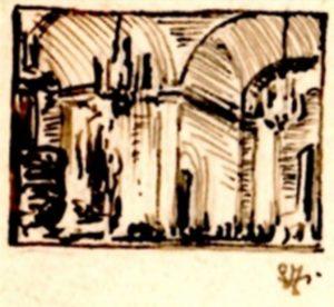 wizerunek dla obiektu: Wnętrze kościoła barokowego